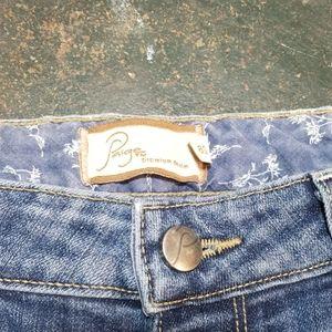 PAIGE Jeans - Paige Skyline Ankle Peg Jean's Size 28